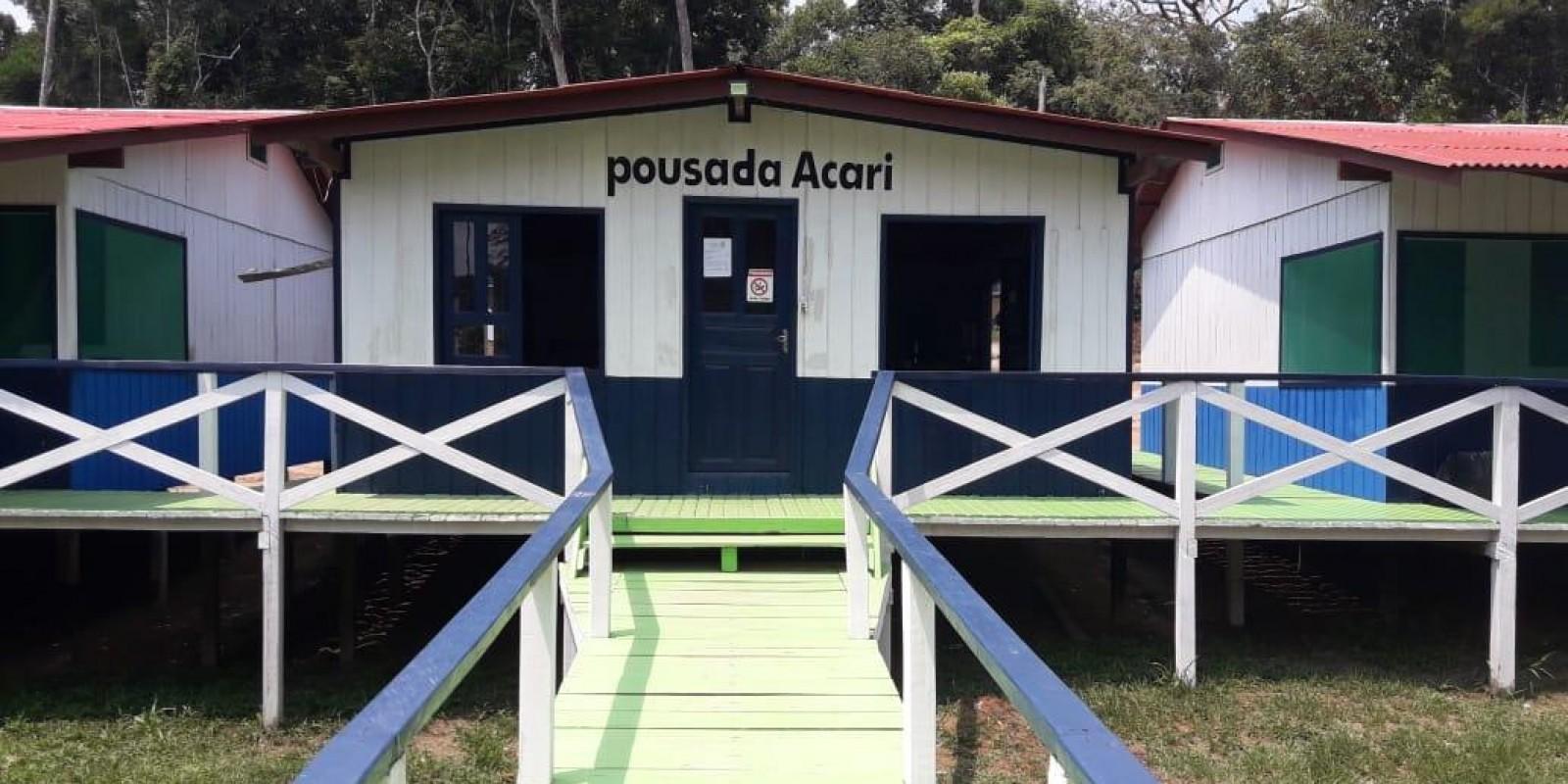 Pousada Acari - Amazônia - Rio Acari - 20 pessoas