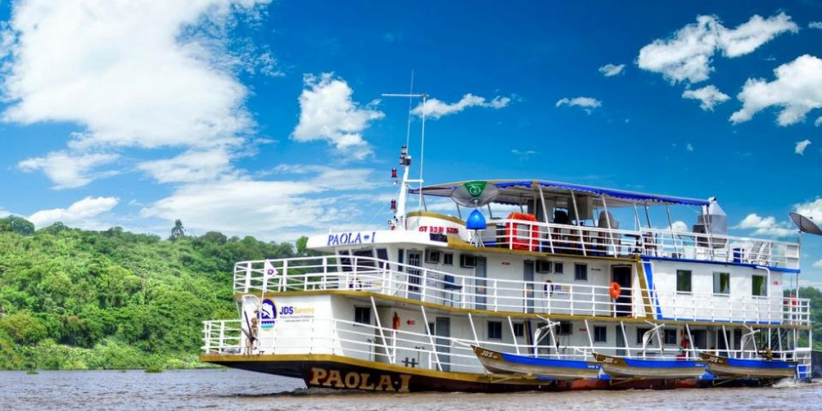 Barco Hotel Paola I - Corumbá - 24 pessoas - Foto 3 de 10