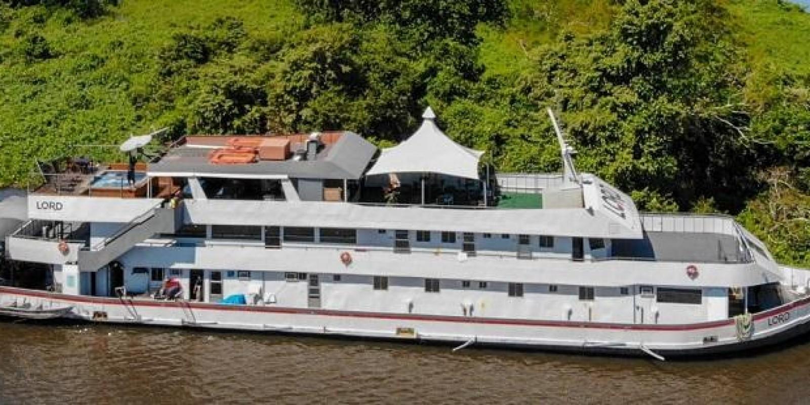 Barco Lord do Pantanal - Corumbá - Rio Paraguai - Foto 11 de 11
