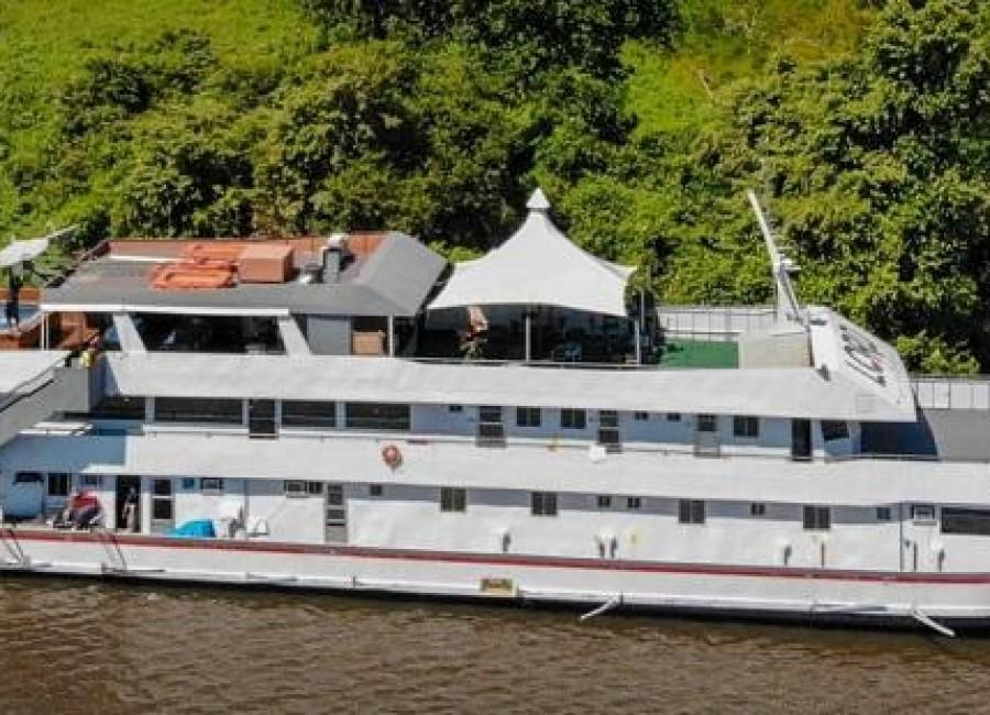 Barco Lord do Pantanal - Corumbá - 30 pessoas
