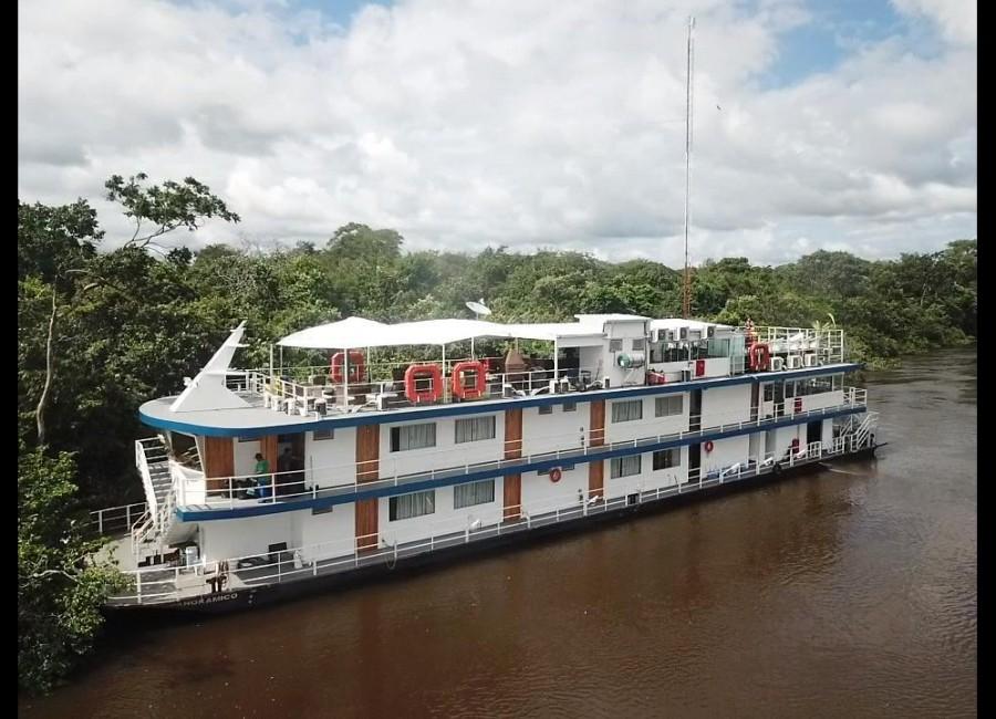 Barco Hotel Panorâmico - P. Cercado 36 pessoas