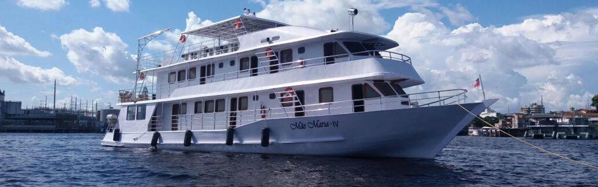 Barco Iate Mãe Maria /Manaus